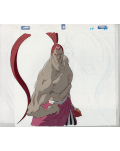Samurai Spirits-04 - Samurai Spirits / Samurai Showdown Oversized Pan anime cel
