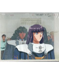 S.Mobius-33 - Silent Mobius anime cel