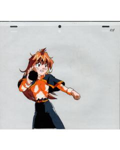 Slayers-421 - Slayers anime cel (Lina casting)