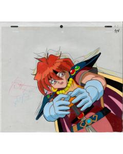 Slayers-443 - Slayers anime cel (Lina Inverse)