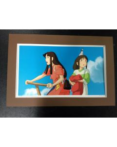 """Ghibli Print Spirited Away - Licensed Ghibli print (27 x 42 cm) for """" Spirited Away"""" from 2016 calender (Matte not included!!)"""
