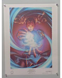 "Street Fighter Chun-Li - UDONLEP - Chun-Li Udon Limited Edition prints (19"" x 25"")"