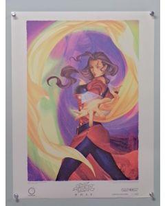 "Street Fighter Rose - UDONLEP - Rose Udon Limited Edition prints (19"" x 25"")"