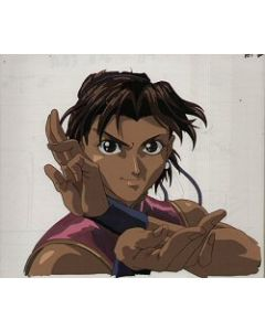 Street Fighter-01 - Street Fighter anime cel