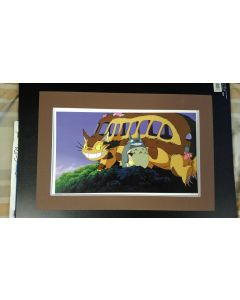 """Ghibli Print Totoro - Licensed Ghibli print (27 x 42 cm) for """" My Neighbor Totoro"""" from 2016 calender (Matte not included)"""