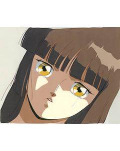 VPMiyu-OVA10 - Miyu crying  - Vampire Princess Miyu anime cel