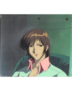 wkreuz-94 - Weiss Kruz anime cel (with production background)