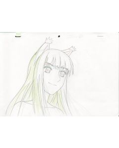 Spice/Wolf-023 -  Spice & Wolf Pre-production genga set - Holo
