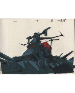 Yamato-05 - Final Yamato anime cel